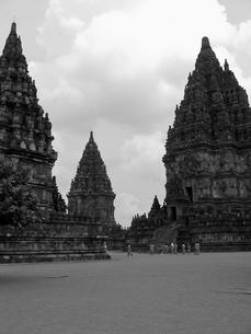 プランバナン寺院の写真素材 [FYI00212973]