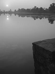 スラ・スランからの夕日の写真素材 [FYI00212978]