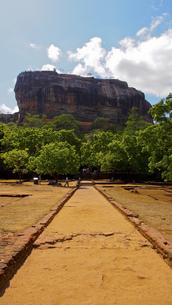 シーギリヤロック Sigiriya Rockの写真素材 [FYI00213060]
