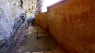 シーギリヤの鏡の回廊 Mirror Wallの写真素材 [FYI00213072]