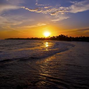 マータラの夕日の写真素材 [FYI00213082]