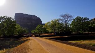 シーギリヤ・ロック Sigiriya Rockの写真素材 [FYI00213118]