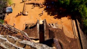 真上から見たライオン・テラスの写真素材 [FYI00213119]