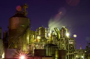 川崎工場夜景の写真素材 [FYI00213187]