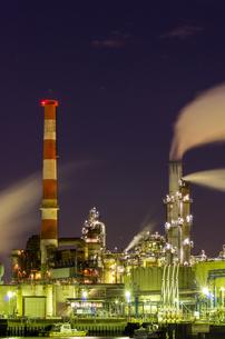 川崎工場夜景の写真素材 [FYI00213193]