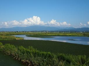 福島潟の写真素材 [FYI00213652]