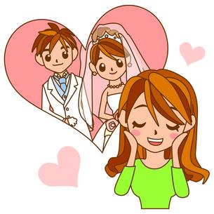 結婚式に向けて膨らむ期待の写真素材 [FYI00213911]
