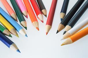 色鉛筆の写真素材 [FYI00214008]
