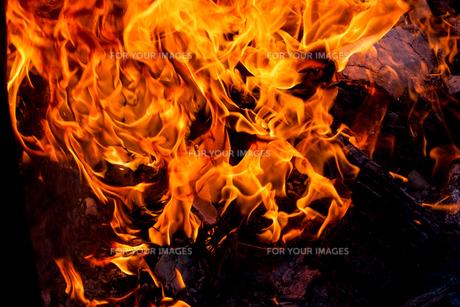 炎の写真素材 [FYI00214083]
