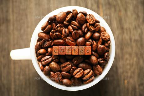 コーヒー豆の素材 [FYI00214146]