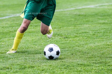 サッカーの素材 [FYI00214320]