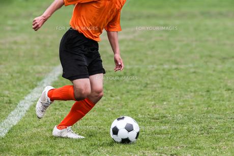 サッカーの写真素材 [FYI00214345]