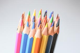 色鉛筆の写真素材 [FYI00214415]