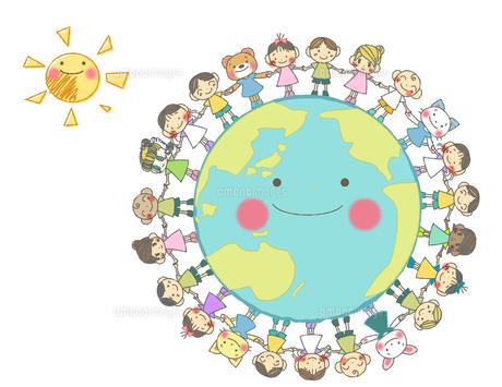世界の子どもたちの素材 [FYI00214466]
