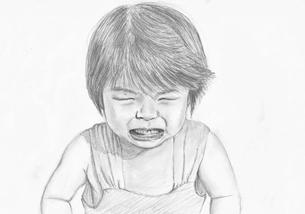 泣き虫の写真素材 [FYI00214474]