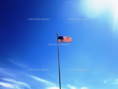アメリカン フラッグの写真素材 [FYI00214565]
