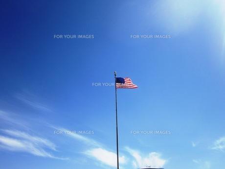 アメリカン フラッグの写真素材 [FYI00214572]