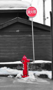 消火栓の写真素材 [FYI00214579]