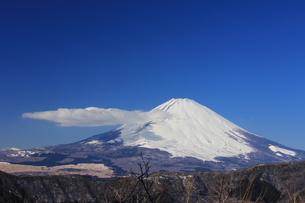 快晴冬山の写真素材 [FYI00215339]
