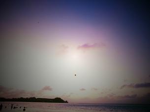 グアム・タモンの海・風船の写真素材 [FYI00215534]