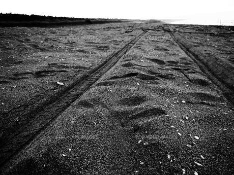 足跡の写真素材 [FYI00215929]