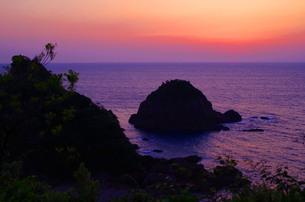 魅惑の天草 サンセットの写真素材 [FYI00215962]