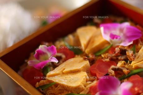 ばら寿司の写真素材 [FYI00216052]