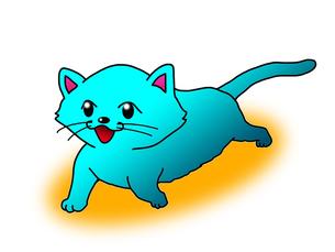 散歩する猫の写真素材 [FYI00216124]