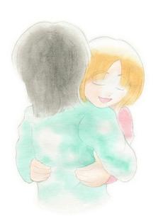 抱き合うカップルの写真素材 [FYI00216157]