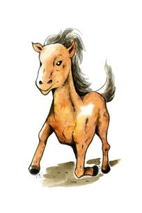 走る馬の写真素材 [FYI00216166]