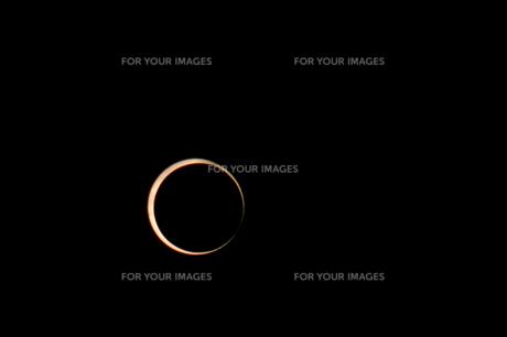 2012年5月21日金環食の写真素材 [FYI00216638]