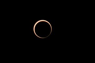 金環日食の写真素材 [FYI00216648]