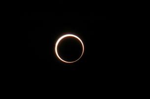金環日食の写真素材 [FYI00216652]