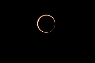 金環日食 ベイリービーズの写真素材 [FYI00216654]