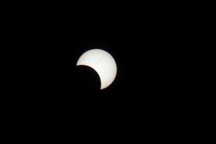 部分日食の写真素材 [FYI00216662]