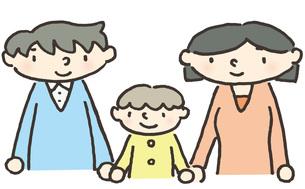 家族のかたち パパとママの写真素材 [FYI00216707]