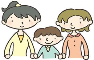 家族のかたち ママとママの写真素材 [FYI00216715]