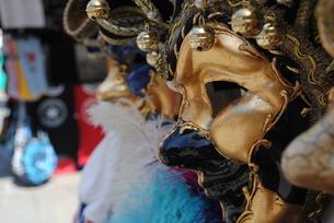 ベネチアンマスクの写真素材 [FYI00216876]