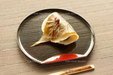 関東風桜餅の写真素材 [FYI00218113]