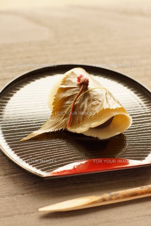 関東風桜餅の写真素材 [FYI00218117]