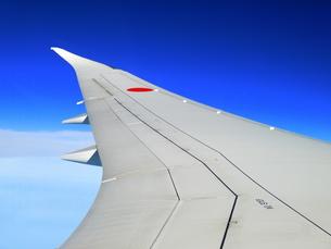 旅客機の翼の写真素材 [FYI00218190]