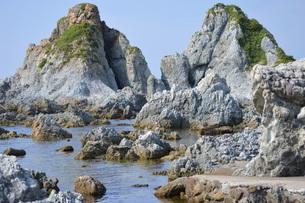 夫婦岩の写真素材 [FYI00218257]
