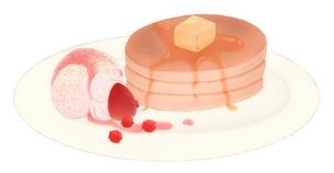 ホットケーキの写真素材 [FYI00218333]