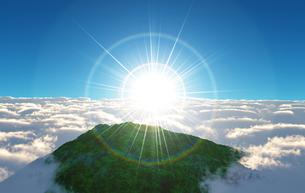 太陽の写真素材 [FYI00218368]