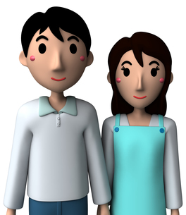 夫婦の写真素材 [FYI00218394]