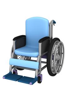 車椅子の写真素材 [FYI00218435]