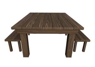 ガーデンテーブルの写真素材 [FYI00218451]
