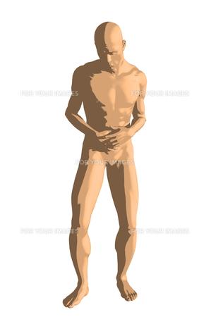 腹痛の写真素材 [FYI00218454]