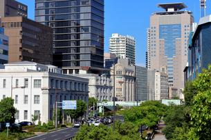 神戸 海岸通の建物 の写真素材 [FYI00218598]