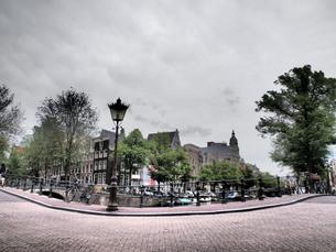 アムステルダムの街並みの素材 [FYI00219356]